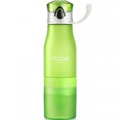 Ecooe 20oz Lemon Squeezer Water Bottle - Green