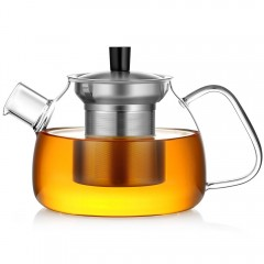 Ecooe 30 oz Stovetop Glass Teapot with Filters