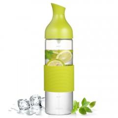 Ecooe 27 oz Glass Water Bottle