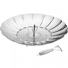 Ecooe Collapsible Stainless Steel Vegetable Steamer