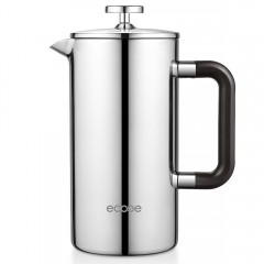 Ecooe 34 oz 8 Cup Double Wall Stainless Steel French Press Coffee Maker