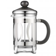 Ecooe 800ml Glas-und Edelstahl-Kaffeebereiter