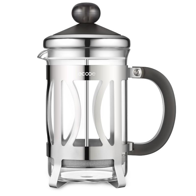 Ecooe 800ml Glas-und Edelstahl-Kaffeebereiter | {Kaffeebereiter 14}