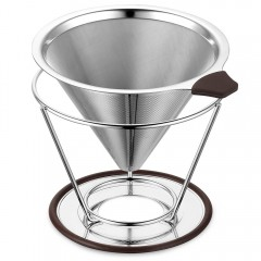 Ecooe Stainless Steel Coffee Dripper