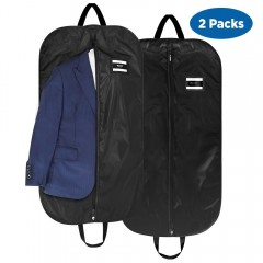 Ecooe 2-Pack 210D Polyester Foldable Suit Bag