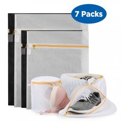 Ecooe Polyester 7-Pack Set Mesh Laundry Bag