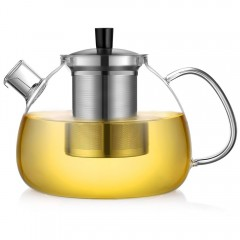 Ecooe 1500ml / 53oz Stovetop Glass Teapot