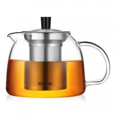 Ecooe 1000ml / 35 oz Stovetop Glass Teapot