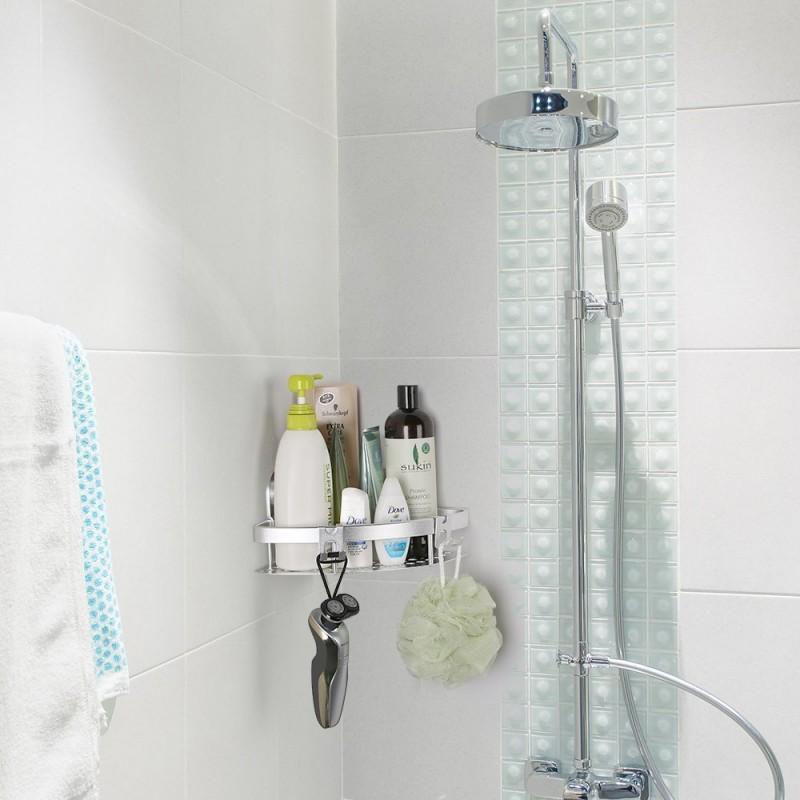 Ecooe Aluminiumlegierung Badezimmer Eckregal Lagerregal - Ecooe