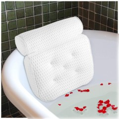 Ecooe Comfort Bath Pillow Bathtub Pillow Luxury Spa Pillow