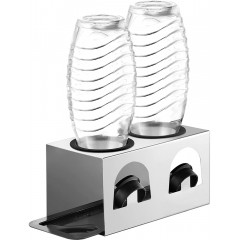 ecooe drip stand with drip tray and edge protection rings Bottle holder for SodaStream Crystal glass carafe