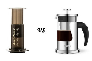 aeropress vs french press 300x200 Does Decaf Coffee Dehydrate You Does Regular Or Decaf Coffee Dehydrate You Ecooe Life