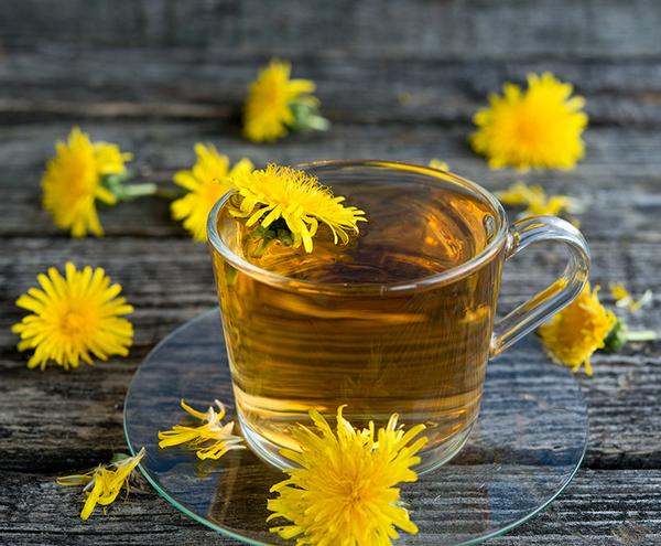 dandelion tea for detoxificaiton