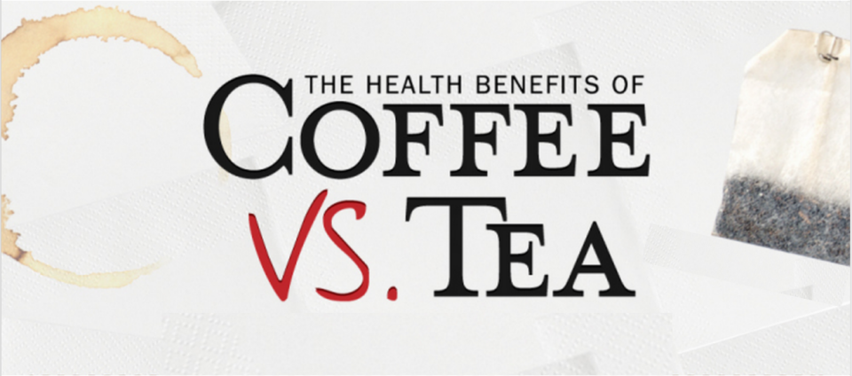 Coffee vs Tea Health Benefits