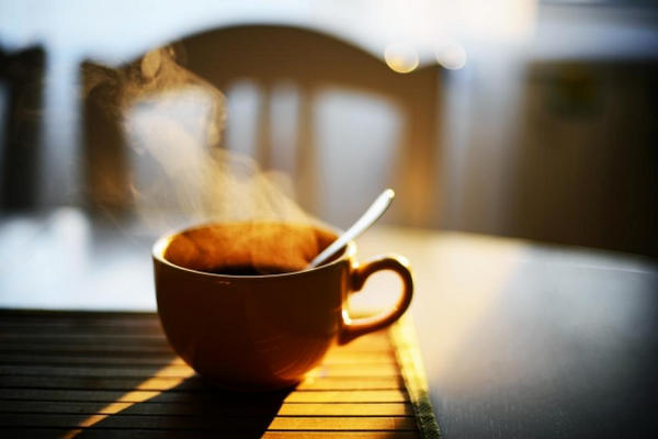 stop drinking coffee in the morning