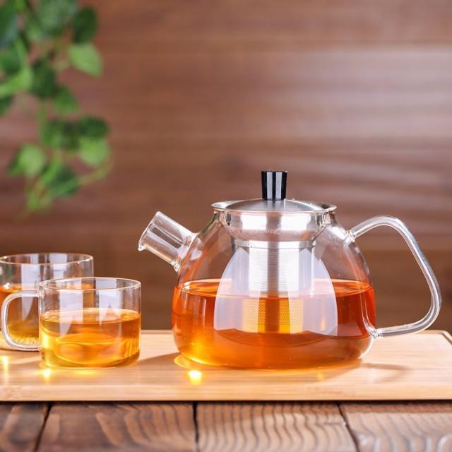 Ecooe Stovetop Glass Teapot