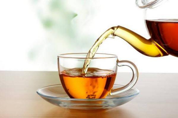 brew tea leaves