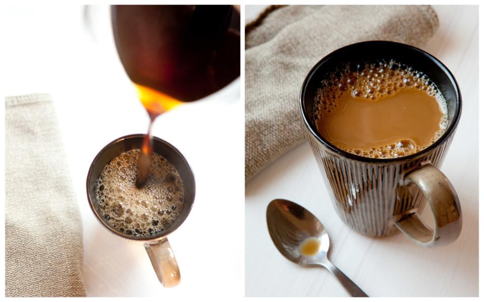 Gewicht von einem Esslöffel Kaffee wesentlich besser Kaffee zu machen