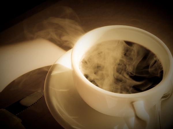 enjoy hot coffee