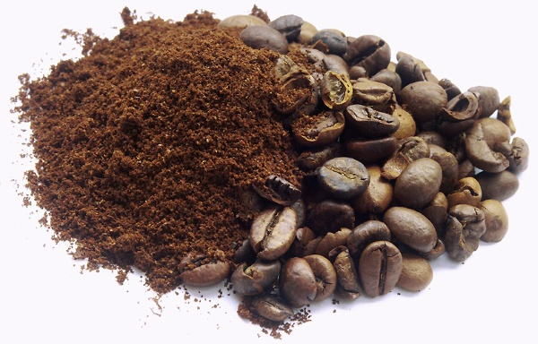 coffee beans or grounds