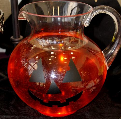 Halloween pitcher