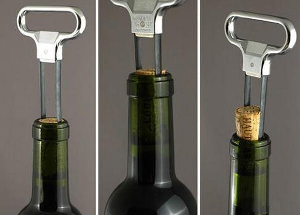triangle hook open wine