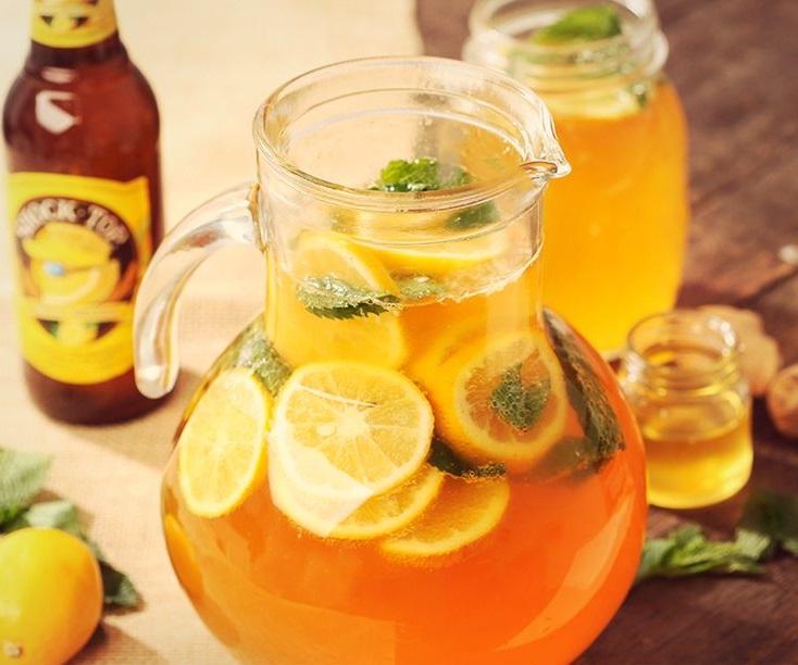 Lemon Mint Beer