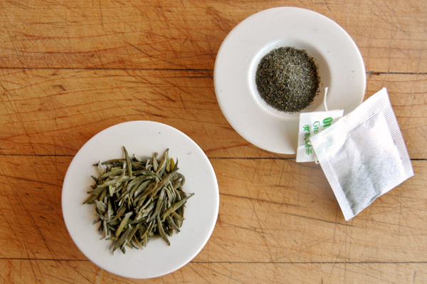 Loose Leaf Tea and Tea Bags