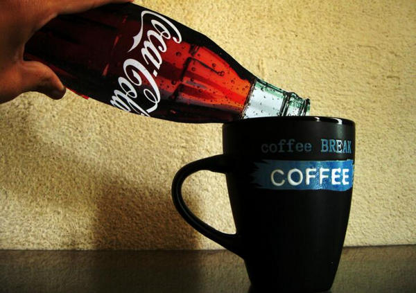 add cola to coffee