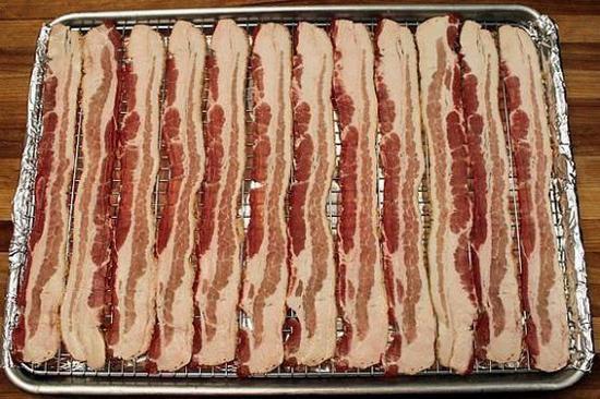 line bacon