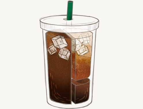 Difference between cold brewed and iced coffee—2