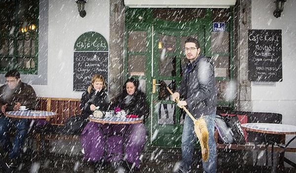 slovenian coffeehouse