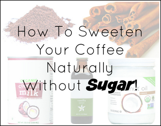sweeten coffee without sugar