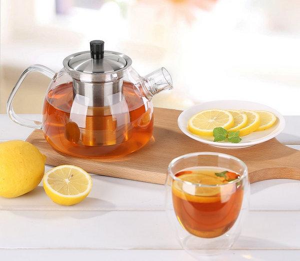 Ecooe Borosilicate Glass Teapot