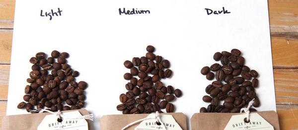 Difference between Light, Medium & Dark Roast