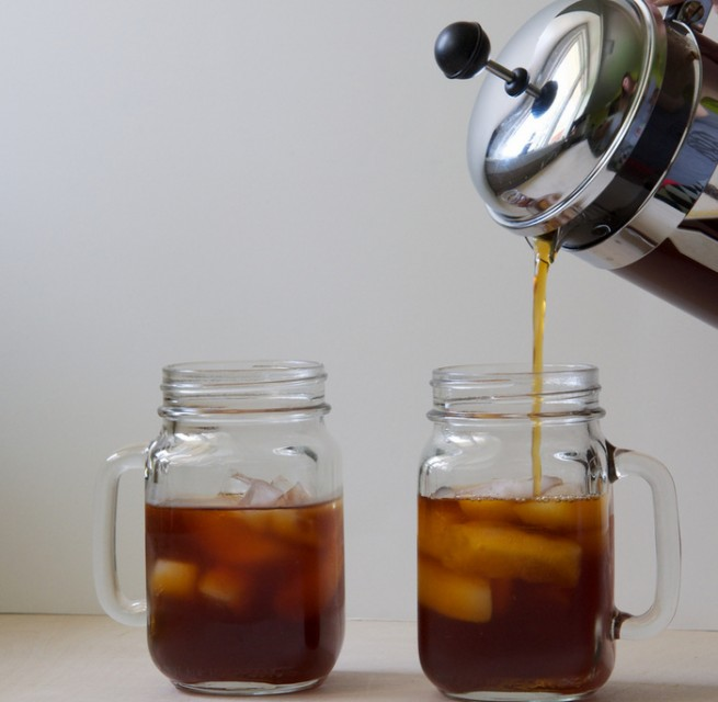 make cold brew coffee with French Press