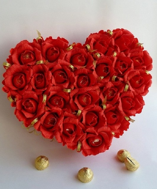 How to DIY valentine flower arrangements-01