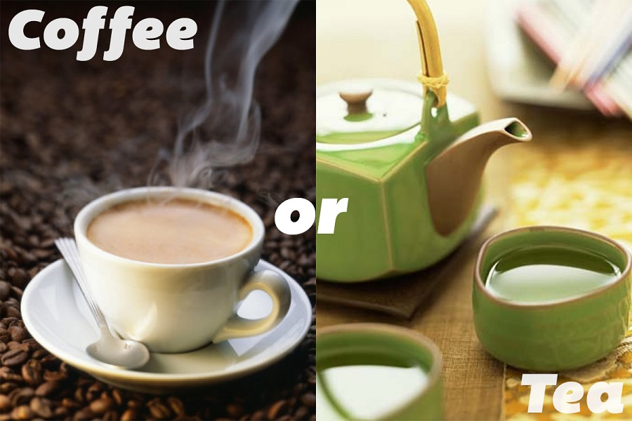 Which will help more to keep you awake, tea or coffee1