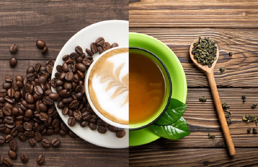 Which will make you more refreshing, tea or coffee2.