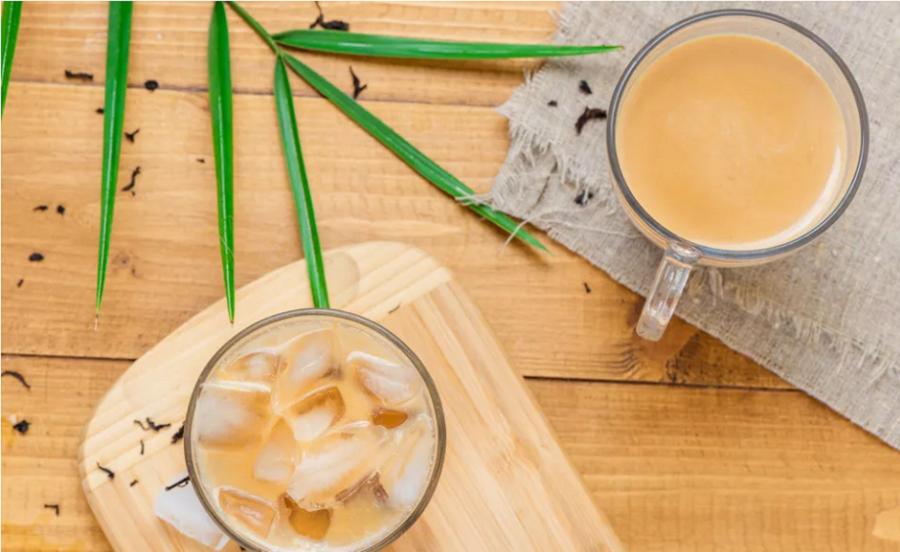 How to make milk tea1