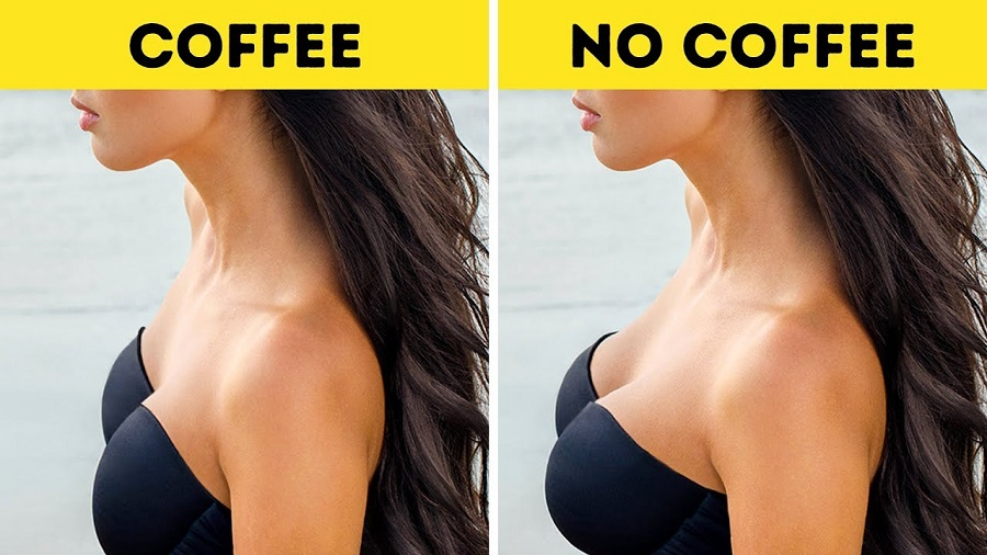 Does black coffee reduce breast size4