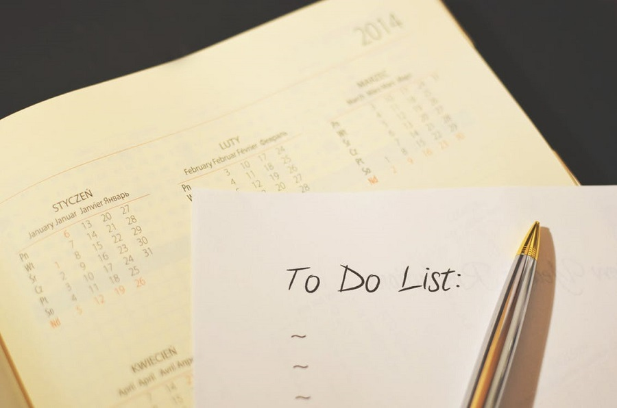 To Do List-Tips on Living A More Organized Life 1