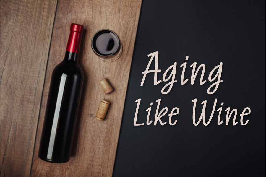 How does wine taste better with age2