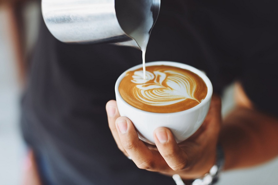 Can you make a latte art with regular coffee-1