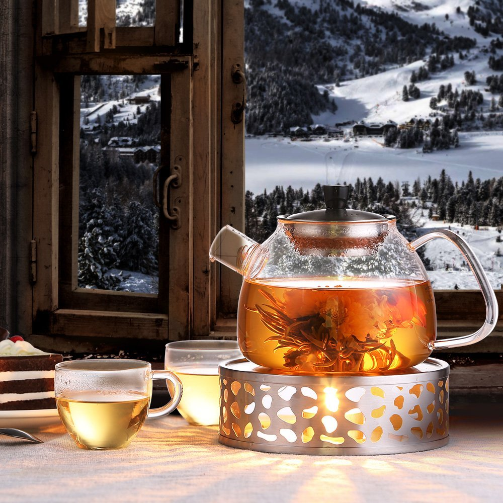 ecooe stainless steel tea warmer